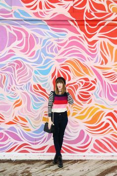 Wooden Walls Project Mural in Asbury Park, NJ, created by The Art of Pau. Fashion blogger Jen Jeffery captures these murals in and around New York and New Jersey.
