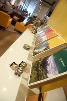 Pick up a brochure in store at Kuoni at John Lewis Cardiff.