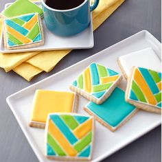 Let the color and light inside any time of year with these bright and shiny Color Flow cookies. Tint all of the sunny shades using the Color Right Performance Color System.