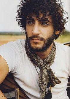 I like the scarf and those eyes!