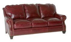 Classic Leather Portsmouth Sleeper Sofa