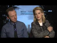 Hilarious vid Simon Pegg and alice eve on benedict cumberbatch and the reasons he explodes ovaries lol