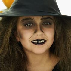 How to Put on Witch Face Paint