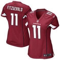 Larry Fitzgerald Arizona Cardinals Nike Women s Game Jersey - Cardinal   ArizonaCardinals 979e95ef5