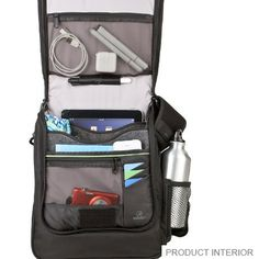 Travelon Anti-Theft Urban N/S Messenger Bag with slash proof construction - www.travelonbags.com