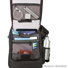 Travelon Anti-Theft Urban N/S Messenger Bag with slash proof construction - www.travelonbags.com