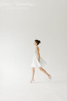 spring-summer collection 2016 de Juliana Yablonskaya yablonskaya.com White Dress, Spring Summer, Wedding Dresses, Fashion, Bride Dresses, Moda, Bridal Gowns, Fashion Styles, Weeding Dresses