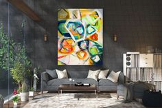 This item is unavailable Oversized Canvas Art, Large Canvas Art, Abstract Canvas Art, Large Wall Art, Abstract Paintings, Texture Art, Texture Painting, Home Design Diy, Textured Walls
