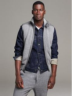 Ribbed Extra-Fine Merino Wool Vest....my new purchase, love it, can't wait to layer it up!!
