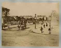 Paris, La Rue des Tuileries, Paris