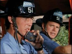 Randolph Mantooth and Kevin Tighe as John and Roy in Squad