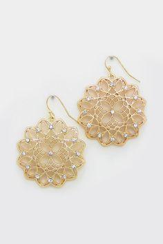 Madeline Earrings in Gold
