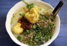 BANH DUC (Rice cake made of rice flour and lime water)