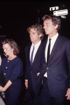 Emily Black Kennedy (Bobby Jr.'s 1st wife), Max Kennedy and Bobby Kennedy Jr.