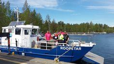 Tervehdys Päijänteeltä!  Viime viikolla valmistelttiin Roope-Saimaan pikkusiskoa Ropetarta vesille Säynätsalossa, Jyväskylässä. Tänään startataan ensimmäiselle huoltokeikalle! https://www.facebook.com/pidasaaristosiistina/photos/a.209171902474259.52623.166281876763262/1091535330904574/?type=3&theater
