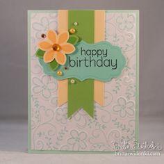 Happy Birthday Hero Arts card