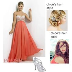 """""""Chloe outfit at the Mikealson ball"""" by desyrae-carstensen on Polyvore"""