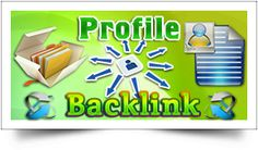 Profile Backlinks are backlinks to your site that you can get by creating account on forum sites & that the sites our service use to make this backlinks are high in rank.We offer 100% manual Profile Link Building Service for your site by creating profiles to a number of different High PR, Do-Follow WEB 2.0 sites.Start using our natural link building service & take your website to the next level. Choose your package and order Profile Backlinks…