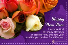 Inspirational New Year Wish Cards