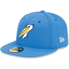Myrtle Beach Pelicans Authentic Road Fitted Cap - Texas MiLB