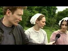 Conan O'Brien 'Plays Old fashioned Baseball '1864 - YouTube