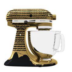 Stand Mixer KitchenAid customizada com estampa do Pão de Açucar. | Brazilian Stand Mixer | Pão de Açucar print Stand Mixer .