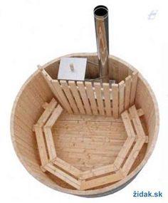 finska kada jacuzzi drevena vyrivka sauna dreveny bazen 1,8m - (1/7)
