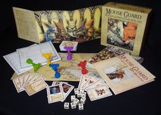 I've never play RPG tabletop games like D but this one is supposed to be a good introduction to the genre.  I'm willing to give the genre a try. Mouse Guard RPG Boxed Set $70.00