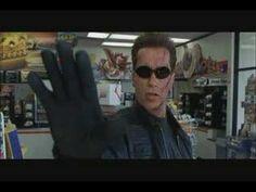 """Talk to the hand."" - Terminator"