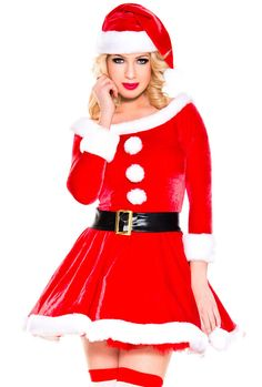 c0dfc36b5 Music legs adult female Christmas Santa costume #MusicLegs Santa Costume,  Pub Crawl, Holiday