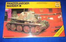 1981 Testors Italeri German.Panzerjaeger Marder III Tank Model Kit-NEW-1/35-#815