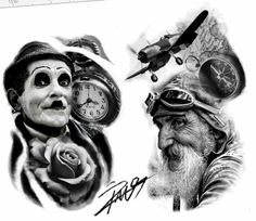 183 Best Photoshop Images Tattoo Sketches Design Tattoos Faces