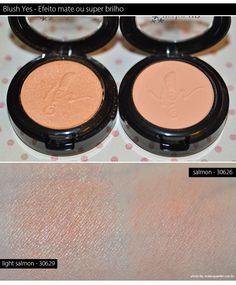 MakeUp Nacional | Sombras cremosas e blushes da Yes