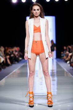 Fashion Week Poland Mohito SS 2014 #orange