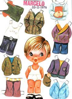 Paper Toys, Paper Crafts, Cute Disney Drawings, Paper Dolls Printable, Kawaii Doodles, Vintage Paper Dolls, Lol Dolls, Fabric Dolls, Childhood Memories