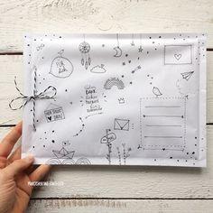 DIY Briefumschlag – Invitation Ideas for 2020 Mail Art Envelopes, Pen Pal Letters, Karten Diy, Decorated Envelopes, Diy Envelope, Origami Tutorial, Origami Paper, Kids Origami, Origami Animals