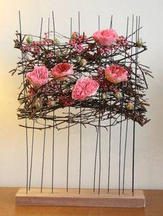 Contemporary Flower Arrangements, Floral Arrangements, Modern Floral Design, Corporate Flowers, Oriental Fashion, Arte Floral, Ikebana, Decoration, Communion
