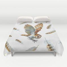 Owl always love you by Andrea Lauren Design         Owl in the forest by Yuminette         Barn owl landing by Jody Edwards Art      ...
