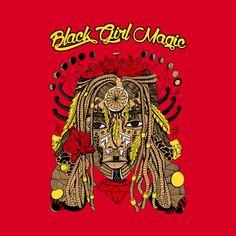 Shop Red and Gold - Goddess of Dreams Black Girl Magic black girl magic crewneck sweatshirts designed by kenallouis as well as other black girl magic merchandise at TeePublic. Black Girl Art, Black Women Art, Beautiful Black Women, Black Girl Magic, Afrocentric Clothing, Black Goddess, Black Artwork, Cool Graphic Tees, Magic Art