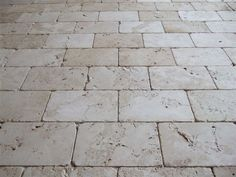 Reclaimed Natural Stone Finishes  floor tiles: small grout lines