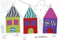 Kitshy House Hot Pads - Fusible Fleece Week