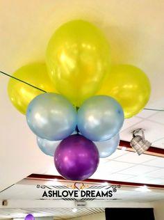 Balloon Decorations, Balloons, Dreams, Birthday, Party, Food, Globes, Birthdays, Parties