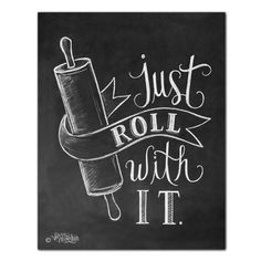 Just Roll With It - Print - Lily & Val