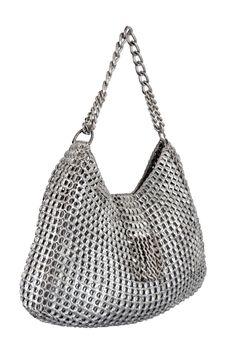 Le borse di Dalaleo, eco e glam Pop Can Art, Pop Tab Crafts, Soda Can Tabs, Recyle, Pop Cans, Crochet Handbags, Hobbies And Crafts, Slow Fashion, Purses And Bags