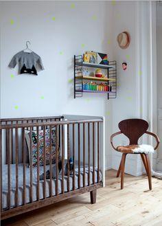 Oeuf Rhea Crib - The Updated Robin Crib - fawn