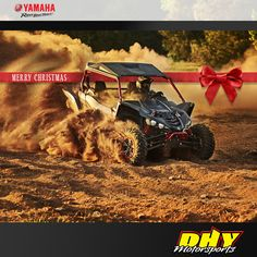 The #Yamaha Holiday Sales Event is on now! Stop by #DHYMotorsports and check the great deals across the Yamaha line. #Stickabigredbowonit