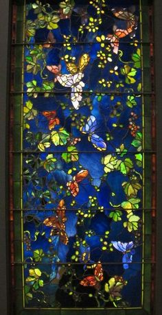 "deepsoulfury:  ""By John la Farge-Stained Glass  """
