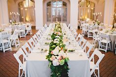 Callanwolde Wedding  - pink and white