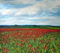 Amapolas Monet, Vineyard, Art Pieces, Paintings, Nature, Travel, Outdoor, Heavens, Poppies
