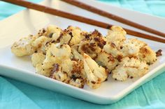 roasted ranch cauliflower